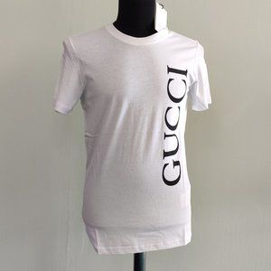 Gucci Men New Season White Tee